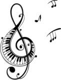 Fototapety Noten, Notenschlüssel, Musiknoten, Musik