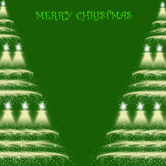 Beautiful abstract background of MERRY CHRISTMAS