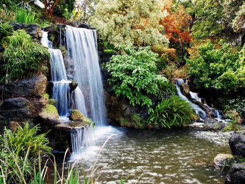 Obraz Autumn waterfall