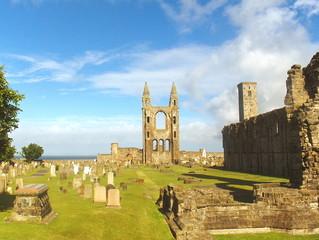 catedral medieval de San Andres Escocia