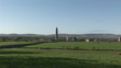 Panorama of Kilmacduagh in Galway