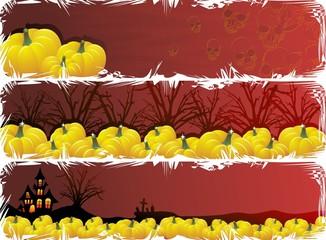 Halloween 3 Banner-Vector