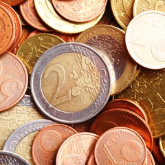 euro money coins
