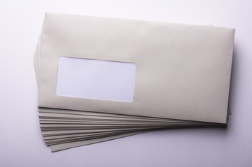 envelope and copyspace