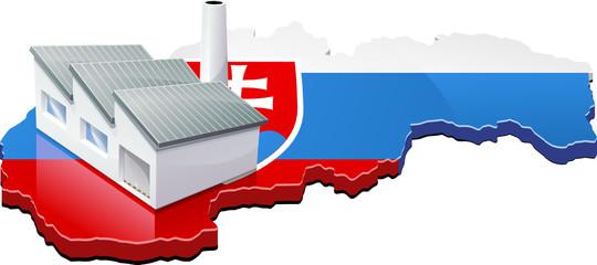 Usine en Slovaquie (détouré)