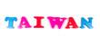 taiwan written in fridge magnets