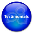 TESTIMONIALS Web Button (business kudos speech bubbles customer)