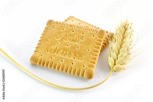 Biscuits petits beurres et épis de blé - 26681947