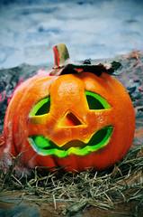 Halloween jack-o'-lantern
