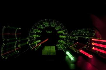 Hi-speed meter