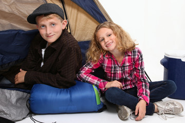 Camping Children