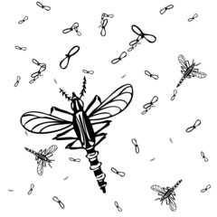 Mosquitos Background