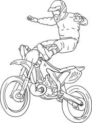 freestyle motorbike