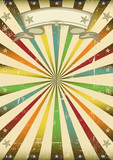 Multicolore vintage background