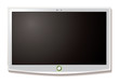LCD TV Wall hang white