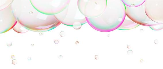 Natural  soap bubbles