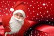 christmas niño vestido de papa noel