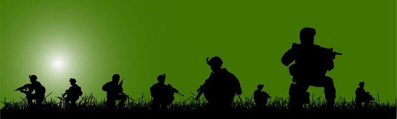 soldier banner