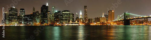 Sight of Manhattan From Brooklyn, New York