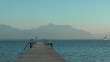 Segelboote auf dem See - Video - Sailing poster