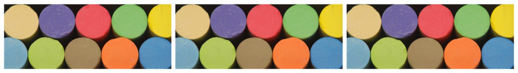 Colored chalks - Gessetti colorati