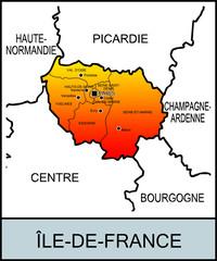 Régions françaises: Île-de-France