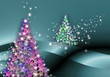 christmas abetos navideños de estrellas