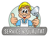 Job Bricklayer Service & Quality poster