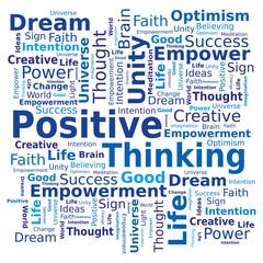 Nuage de Mots - Pensée Positive