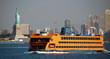 Leinwanddruck Bild - Ferry Ship