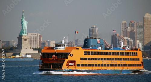 Leinwanddruck Bild Ferry Ship