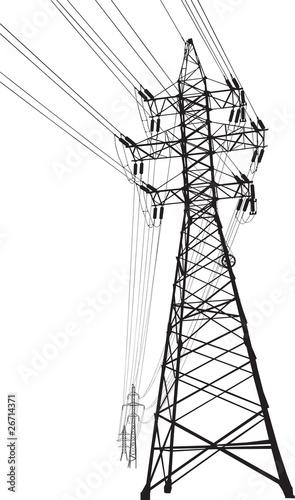 High voltage power line - 26714371