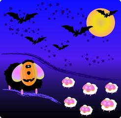 pecore di halloween