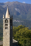 Romanesque bell tower 12th century poster