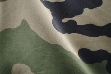 détail d' uniforme militaire