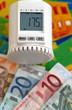 Heizungsregler mit Geld und Wärmebild II