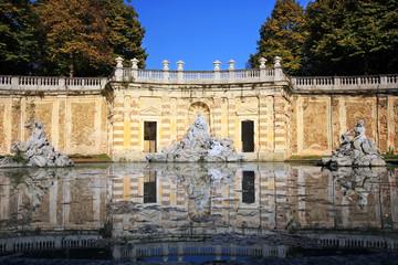 fontana dei quattro fiumi, castello di Agliè