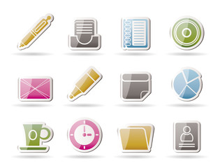 Office & Business Icons - Vector icon Set
