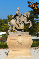 Statue of Empress Maria Theresia in Bratislava 10/2010