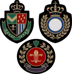 royal classic emblem badge