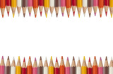 Fototapety Colorful pencil as white isolate background