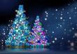 christmas arboles de navidad lazos