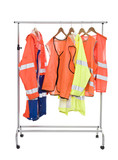 Colored Workwear poster