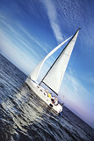 Fototapeta morze - ocean - Jacht