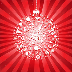 Christmas Ball From Icons
