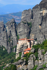 Roussanou Monastery at Meteora, Greece