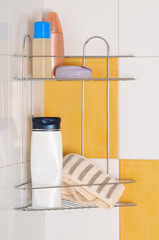 Shower objects.