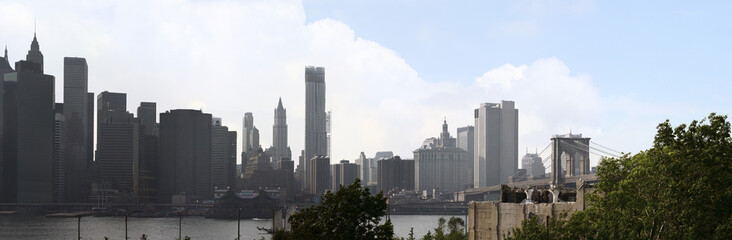 Manhattan NYC Skyline Panorama