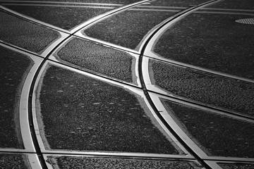 Strassenbahnschienen