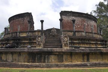 Sri-Lanka - Polonnaruwa - watadage